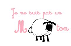 logo mouton cursive