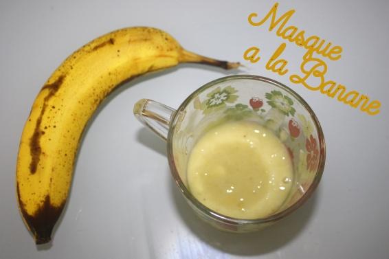 Masque à la banane image titre