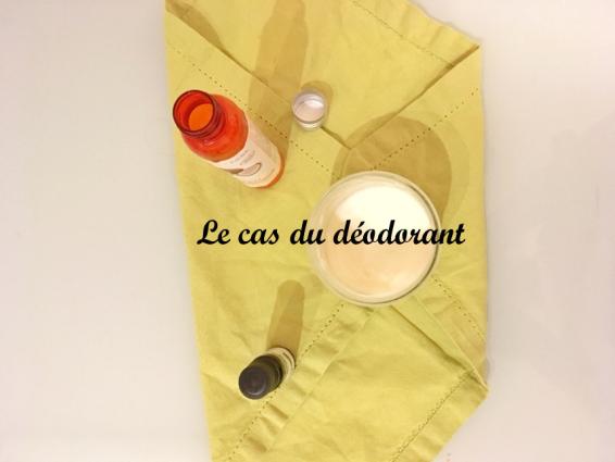 le cas du déodorant