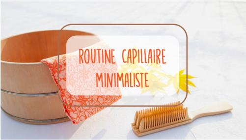 routine capillaire minimaliste_titre