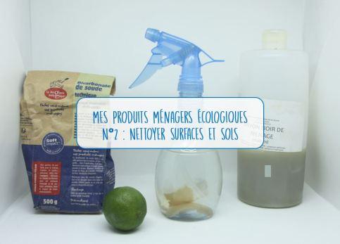 produits ménagers