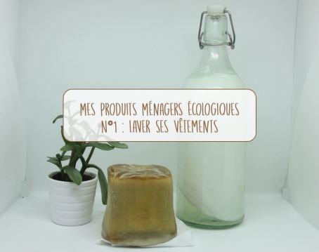 Titre produits ménagers lessive